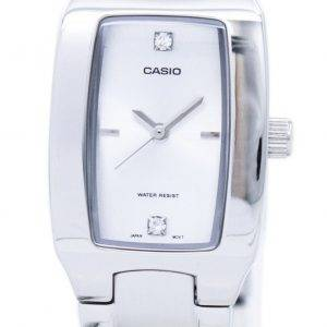 Casio Enticer Analog Silver Dial LTP-1165A-7C2DF LTP-1165A-7C2 Womens Watch