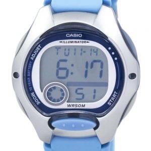 Casio Digital Sports Illuminator LW-200-1BVDF Womens Watch