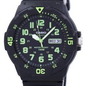 Casio Quartz Analog Black Dial MRW-200H-3BVDF MRW-200H-3BV Mens Watch