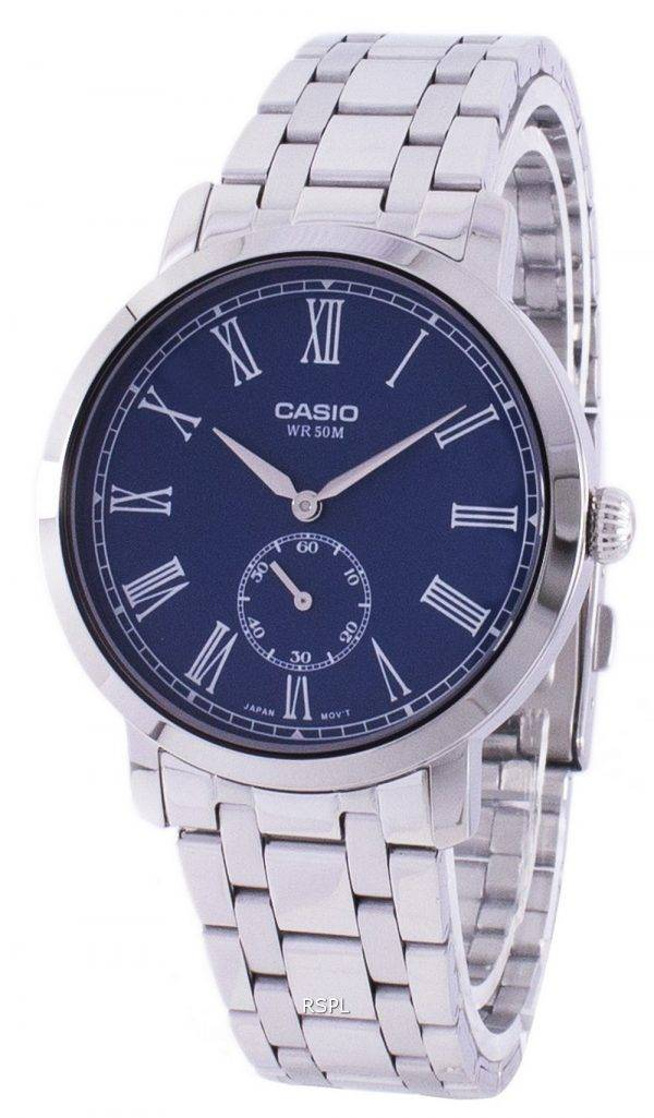 Casio Analog Quartz MTP-E150D-2BV MTPE150D-2BV Men's Watch