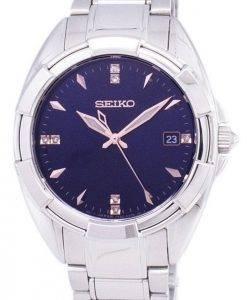 Seiko Quartz Diamond Accents SKK889 SKK889P1 SKK889P Women's Watch
