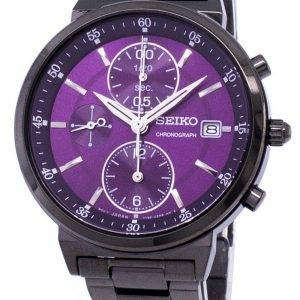 Seiko Chronograph Quartz SNDV25 SNDV25P1 SNDV25P Women's Watch