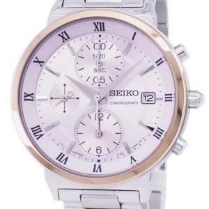 Seiko Chronograph Quartz SNDV30 SNDV30P1 SNDV30P Women's Watch