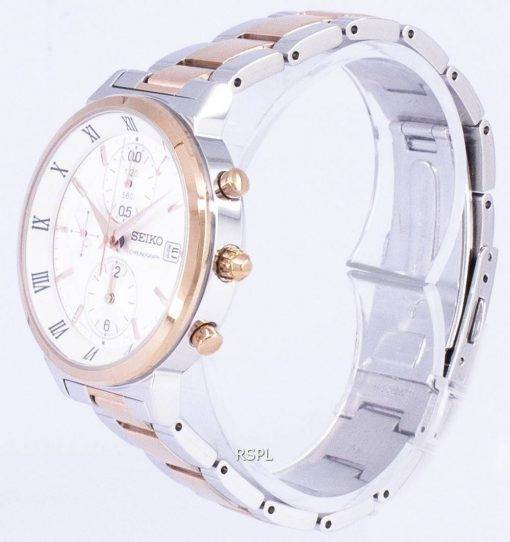 Seiko Chronograph Quartz SNDV32 SNDV32P1 SNDV32P Women's Watch