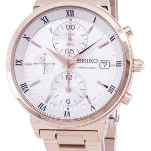 Seiko Chronograph Quartz SNDV34 SNDV34P1 SNDV34P Women's Watch