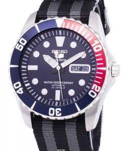 Seiko 5 Sports Automatic Nato Strap SNZF15K1-NATO1 Men's Watch