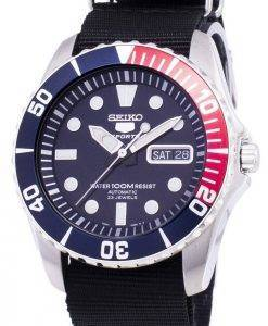 Seiko 5 Sports Automatic Nato Strap SNZF15K1-NATO4 Men's Watch