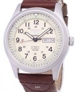 Seiko 5 Sports Automatic Canvas Strap SNZG07K1-NS1 Men's Watch