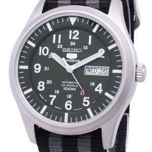 Seiko 5 Sports Automatic Japan Made Nato Strap SNZG09J1-NATO1 Men's Watch