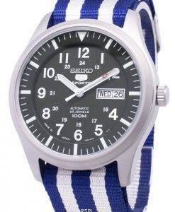 Seiko 5 Sports Automatic Japan Made Nato Strap SNZG09J1-NATO2 Men's Watch