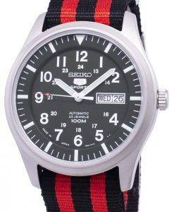 Seiko 5 Sports Automatic Japan Made Nato Strap SNZG09J1-NATO3 Men's Watch