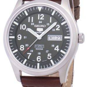 Seiko 5 Sports Automatic Canvas Strap SNZG09K1-NS1 Men's Watch