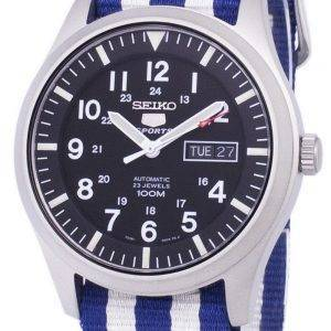Seiko 5 Sports Automatic Nato Strap SNZG15K1-NATO2 Men's Watch