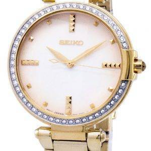 Seiko Quartz Diamond Accents SRZ518 SRZ518P1 SRZ518P Women's Watch