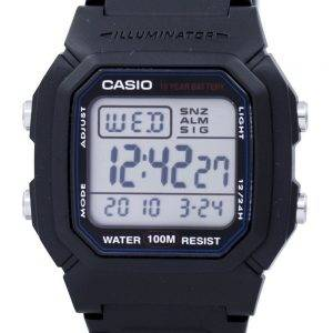 Casio Digital Classic Illuminator W-800H-1AVDF W-800H-1AV Mens Watch