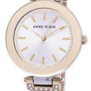 Anne Klein Quartz Diamond Accents 1907SVTT Women's Watch
