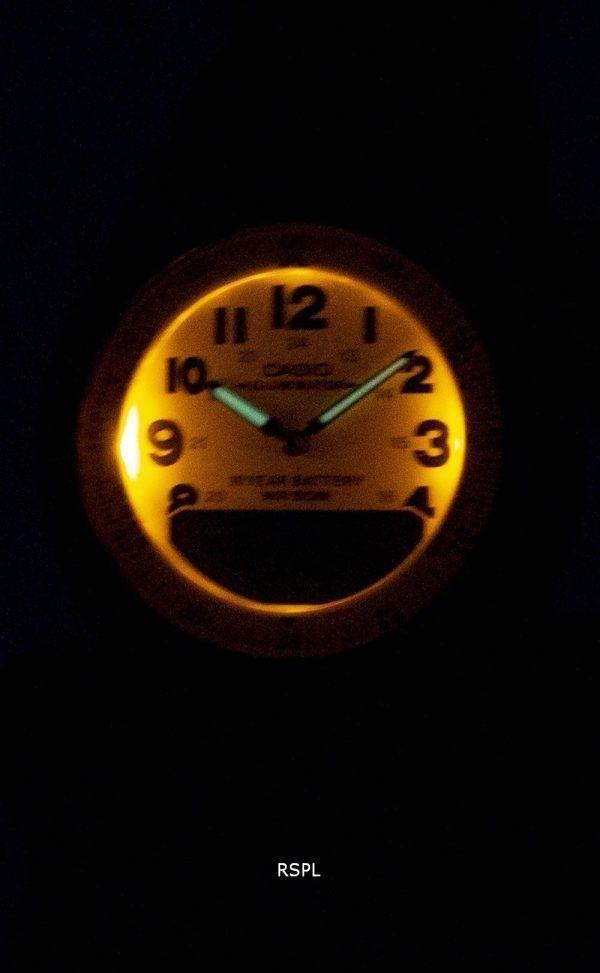 Casio Analog Digital Telememo Illuminator AW-80V-3BVDF AW-80V-3BV Mens Watch