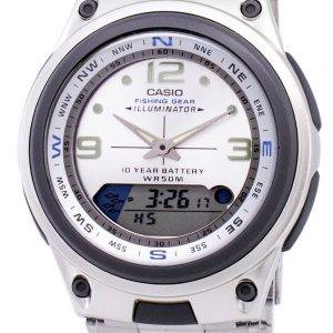Casio Analog Digital Out Gear Fishing Illuminator AW-82D-7AVDF AW-82D-7AV Mens Watch