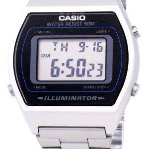 Casio Digital Quartz Stainless Steel Illuminator B640WD-1AVDF B640WD-1AV Mens Watch