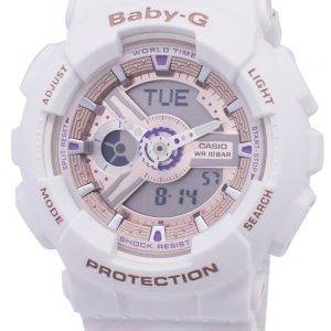 Casio Baby-G Shock Resistant World Time BA-110CH-7A BA110CH-7A Women's Watch