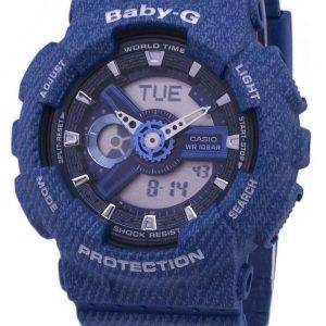 Casio Baby-G Tandem Series World Time BA-110DC-2A2 BA110DC-2A2 Women's Watch