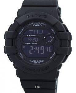 Casio Baby-G Dual Illuminator World Time Digital BGD-140-1A Womens Watch