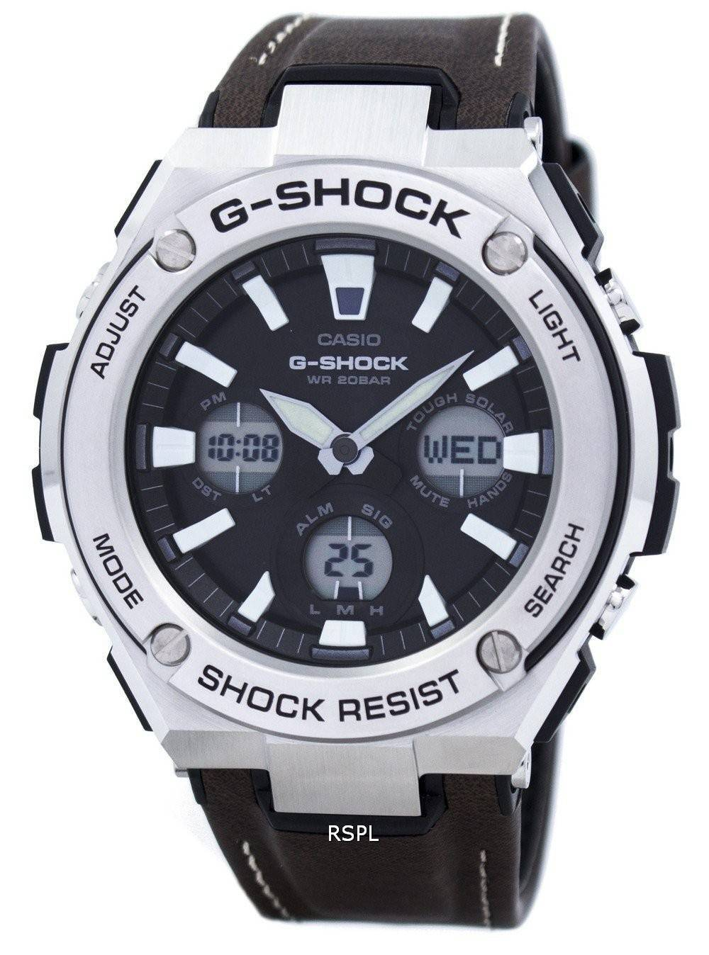 Casio G Shock Tough Solar Resistant Gst S130l 1a Mens Watch Dw 6900nb 7dr