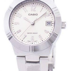Casio Enticer Analog Quartz White Dial LTP-1241D-7A2DF LTP-1241D-7A2 Womens Watch