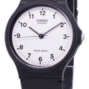 Casio Classic Analog Quartz White Dial MQ-24-7BLDF MQ-24-7BL Mens Watch