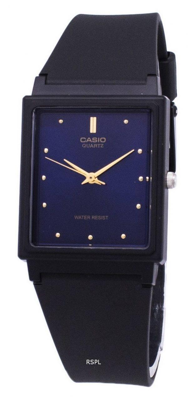 Casio Classic Quartz Analog Blue Dial Rectangular MQ-38-2ADF MQ-38-2A Mens Watch