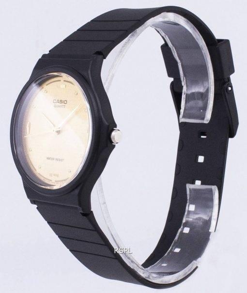 Casio Quartz Enticer Analog Gold Dial MQ-76-9ALDF MQ-76-9AL Mens Watch