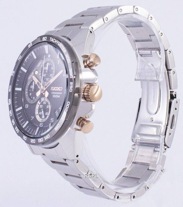 Seiko Motorsport Chronograph Quartz SSB323 SSB323P1 SSB323P Men's Watch