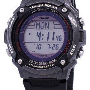 Casio Digital Tough Solar 5 Alarms Illuminator W-S200H-1BVDF Mens Watch