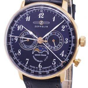 Zeppelin Series LZ 129 Hindenburg Germany Made 7038-3 70383 Men's Watch