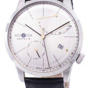 Zeppelin Series Flatline Power Reserve Germany Made 7366-4 73664 Men's Watch
