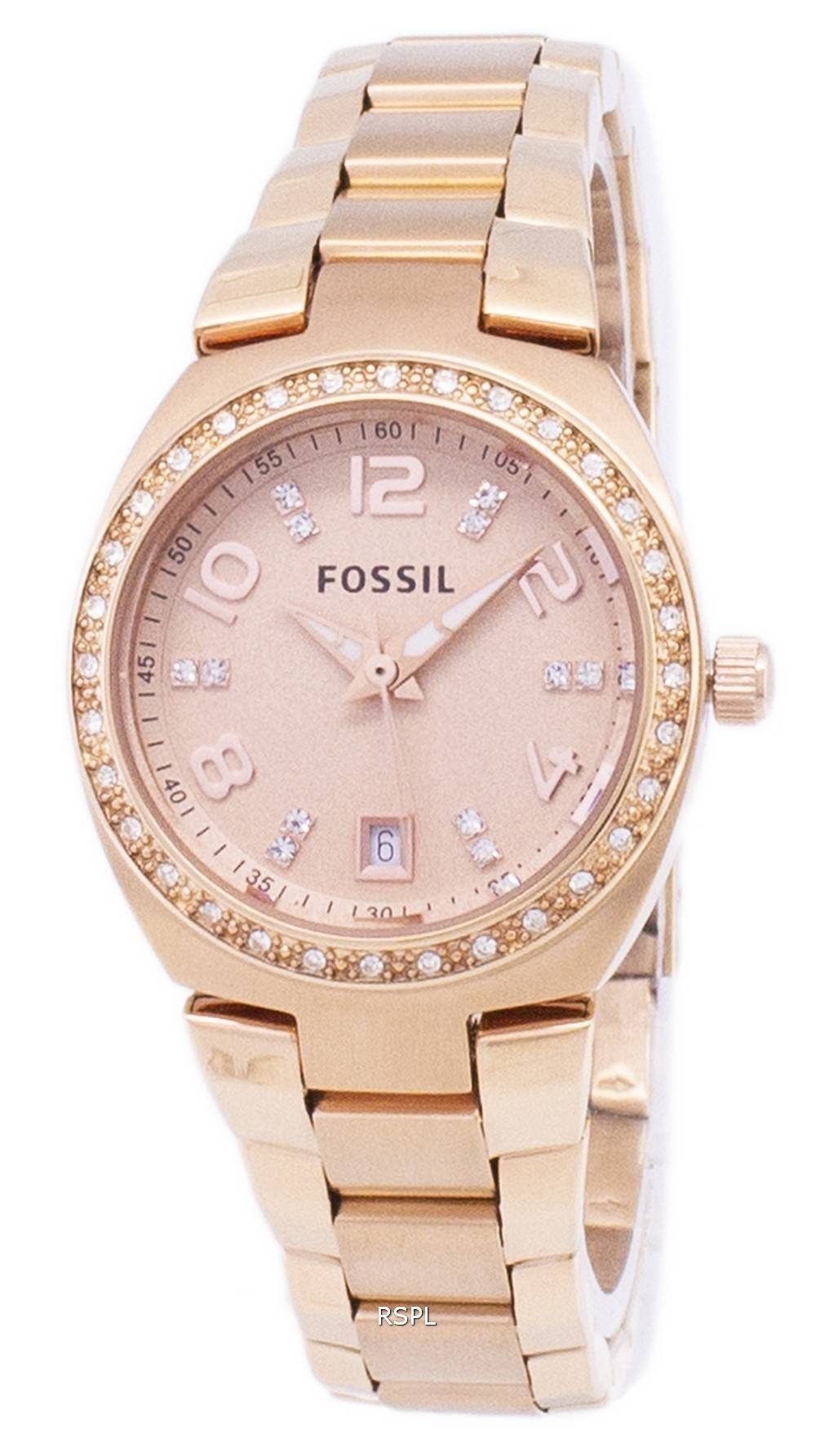 Fossil Cecile Multifunction Stainless Steel Watch Am 4509 Daftar Am4632 Jam Tangan Wanita Original Serena Crystals Rose Gold Tone Am4508 Womens