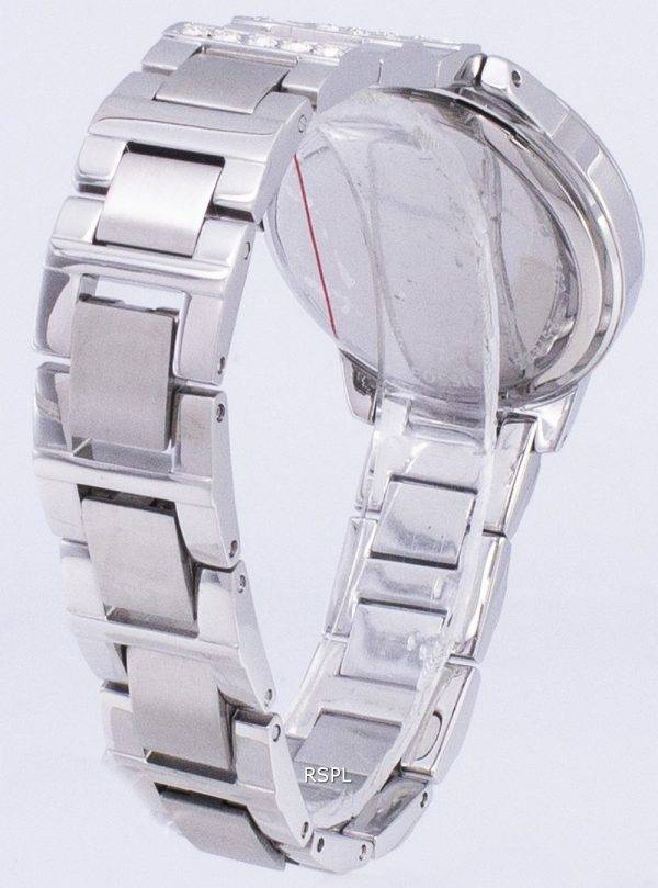 Fossil Jesse Silver Crystals White Dial ES2362 Womens Watch