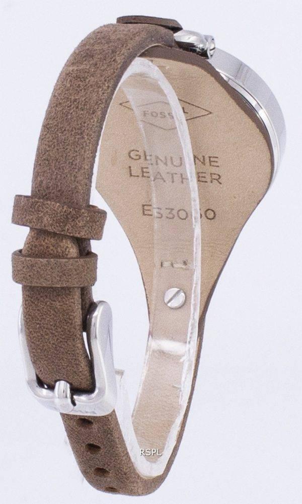 Fossil Georgia Silver Dial ES3060 Womens Watch