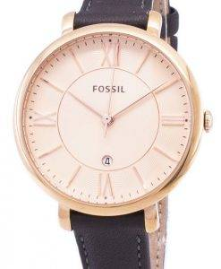 Fossil Jacqueline Quartz Gray Leather ES3707 Women's Watch