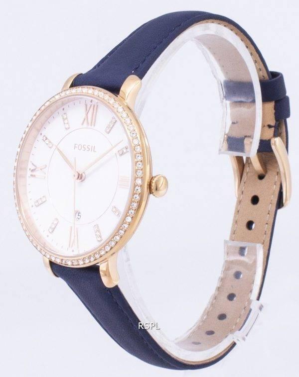Fossil Jacqueline Quartz Diamond Accents ES4291 Women's Watch