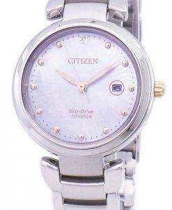 Citizen Eco-Drive Super Titanium EW2506-81Y Women's Watch