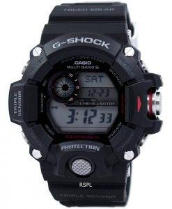 Casio Rangeman G-Shock Triple Sensor Atomic GW-9400-1 Mens Watch