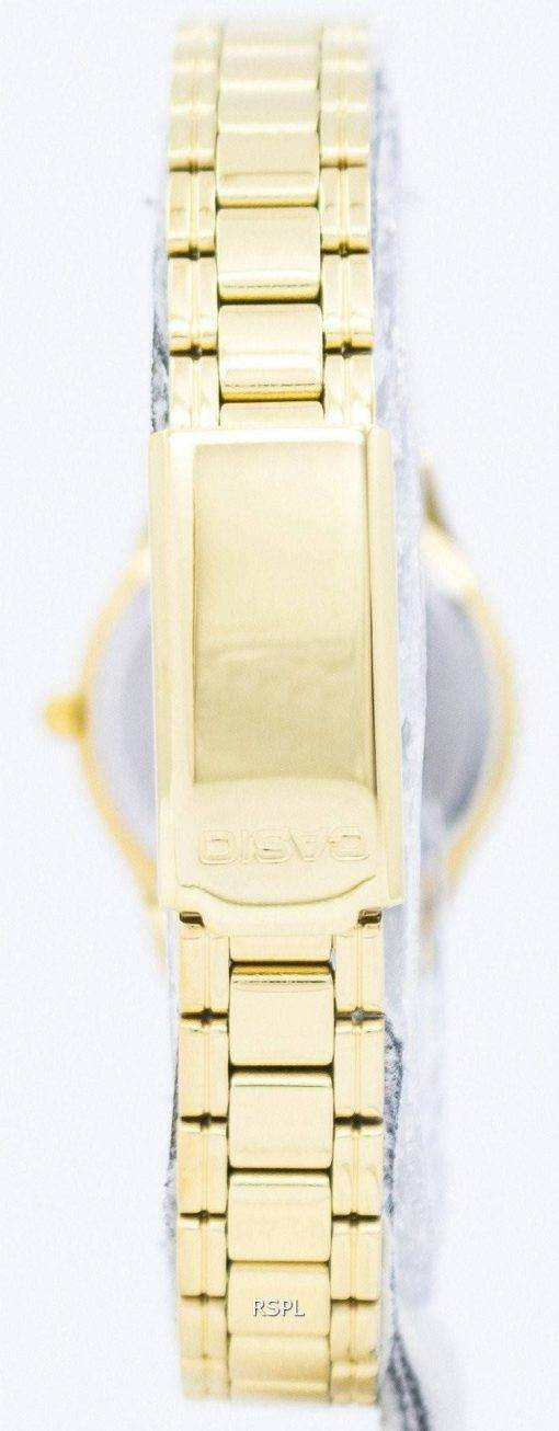 Casio Analog Quartz Gold Tone Dial LTP-1275G-9ADF LTP-1275G-9A Womens Watch