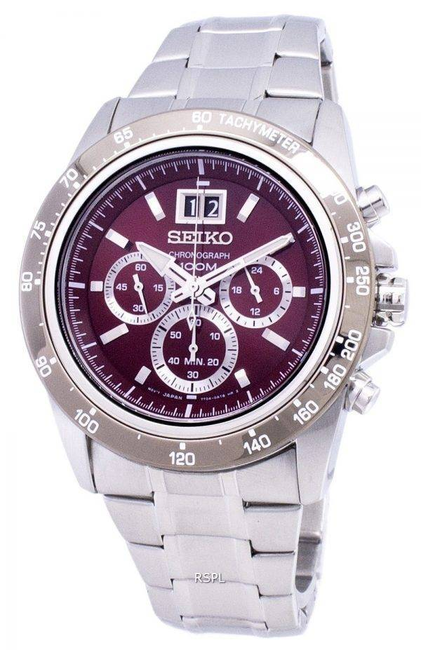 Seiko Lord Chronograph Quartz SPC243 SPC243P1 SPC243P Men's Watch