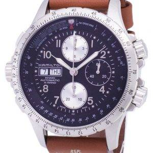 Hamilton Automatic Khaki X-Wind Chronograph H77616533 Mens Watch