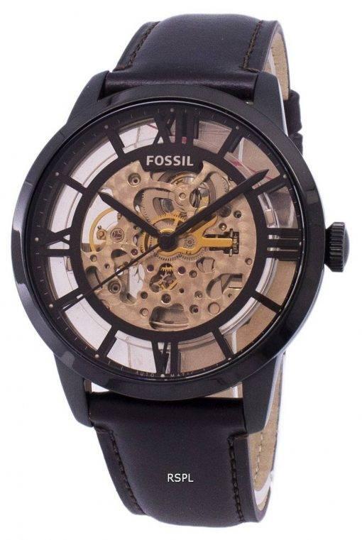 Fossil Townsman Automatic Skeleton Dial ME3098 Men's Watch
