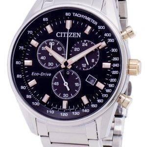 Citizen Eco-Drive Chronograph Tachymeter AT2396-86E Men's Watch