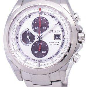 Citizen Eco-Drive Chronograph Tachymeter Power Reserve CA0550-52A Men's Watch