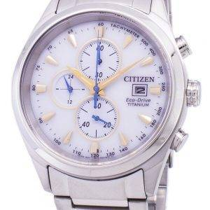 Citizen Eco-Drive Titanium Chronograph Tachymeter CA0650-82B Men's Watch