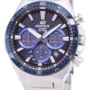 Casio Edifice Solar Chronograph EQS-800CDB-1BV EQS800CDB-1BV Men's Watch